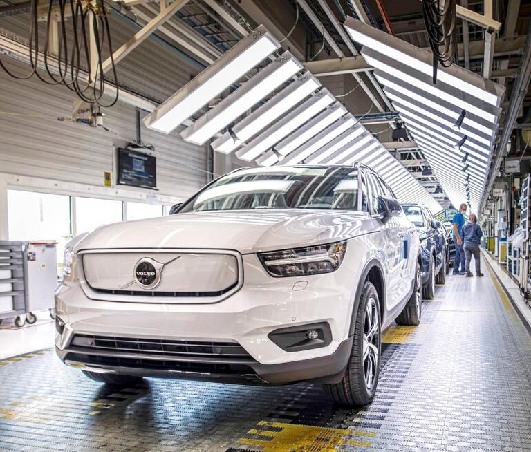 reducir contaminación Volvo